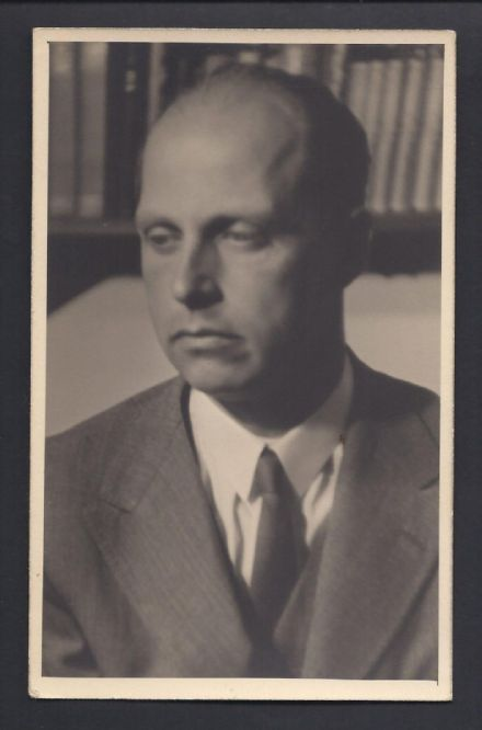 Antique Photo Postcard Archduke Anton Habsburg of Austria  1938